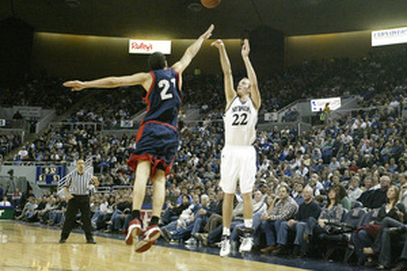 NCAA considering moving back the three-point line