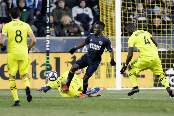 David Accam played his best game for the Union just days after his father died