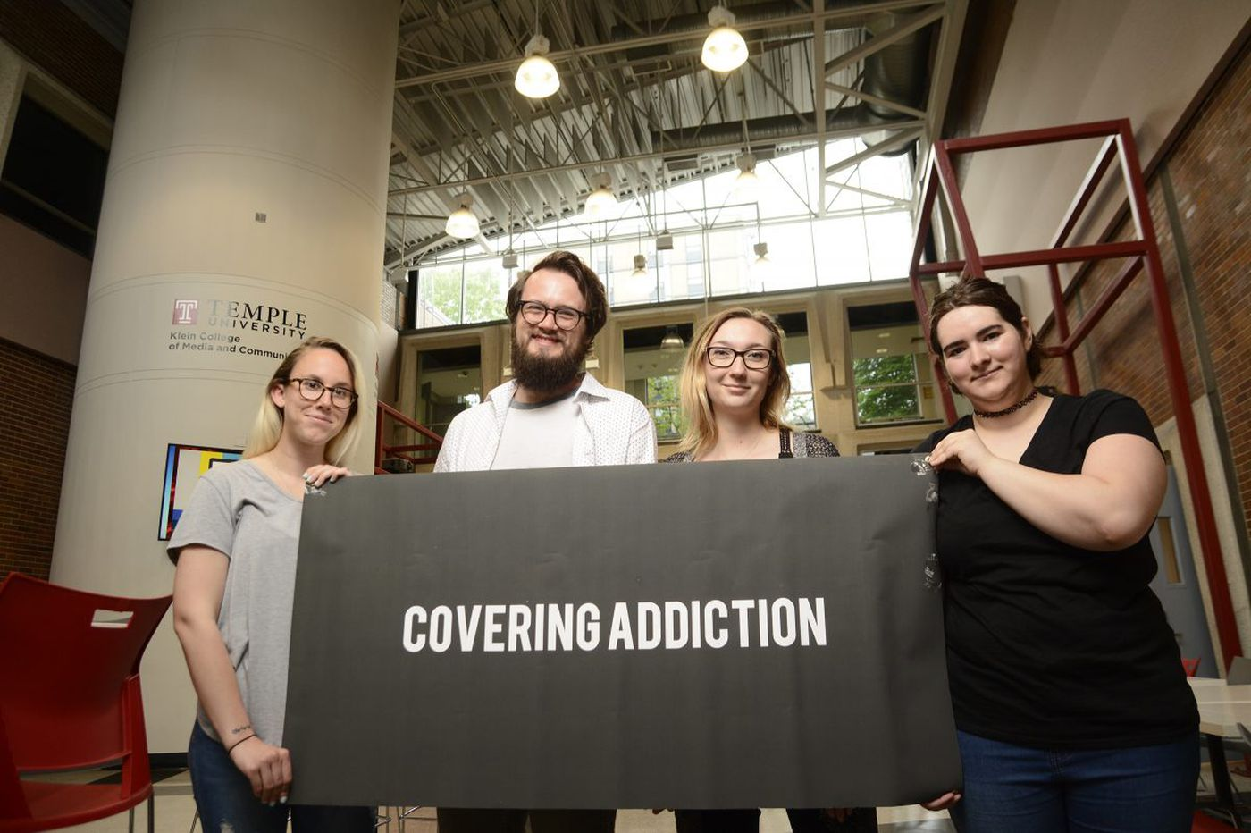 Temple students' class project on addiction teaches us all | Mike Newall