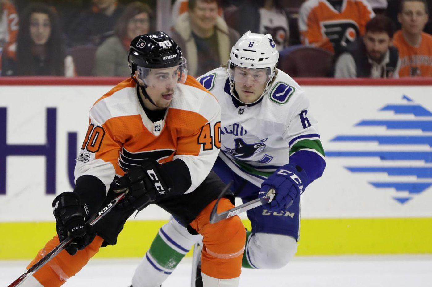 Jordan Weal, hitting 'restart button,' will replace Danick Martel in Flyers lineup