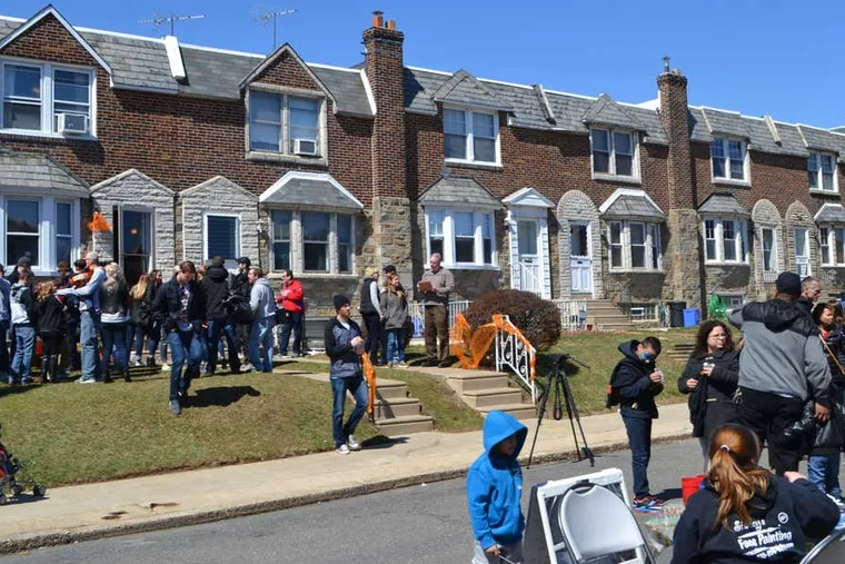 The Philadelphia Flyers Wives, players, coaches, and families present a specially renovated Philadelphia house.