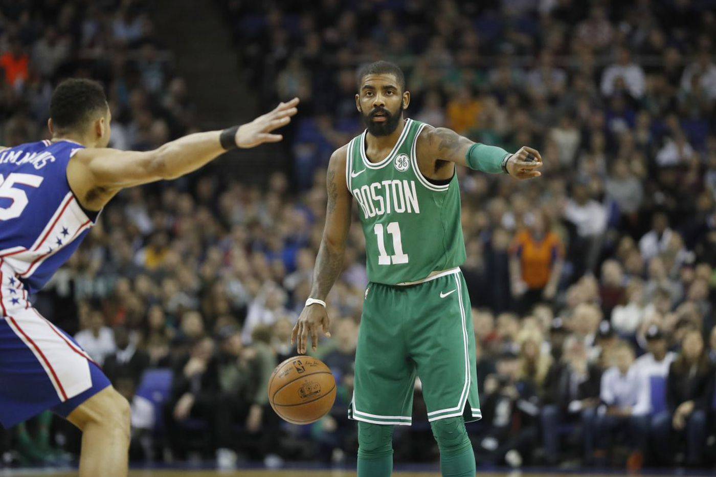 Social media reaction to the Sixers-Celtics game in London