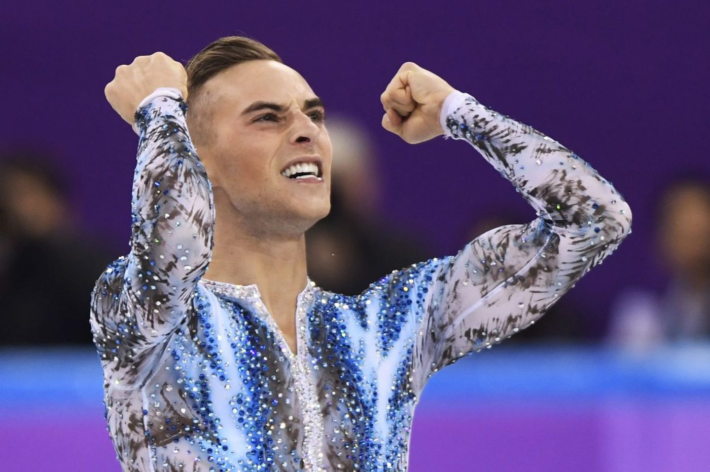 Olympian Adam Rippon gives fans a taste of skating commentary after declining NBC offer