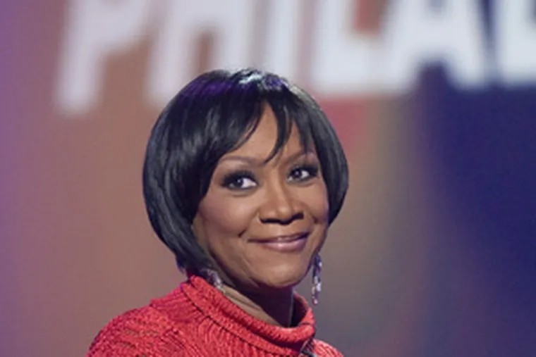 Patti LaBelle during rehearsals for the show.