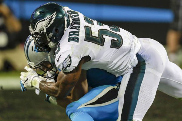 Eagles-Cowboys inactives: 6 starters out, including Jay Ajayi and Nigel Bradham