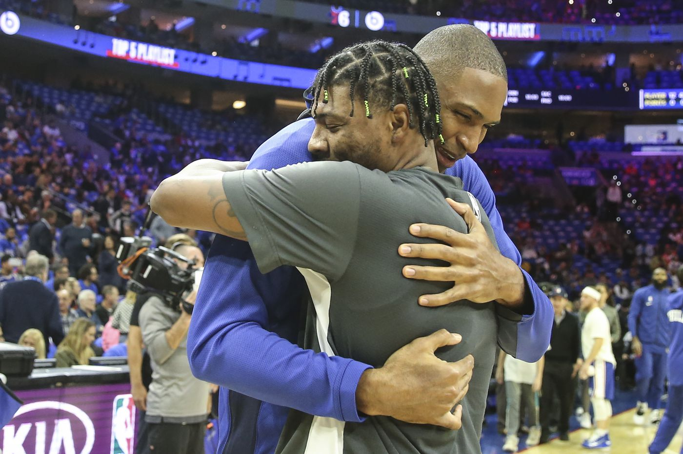 Boston Celtics know firsthand what former teammate Al Horford brings to Sixers
