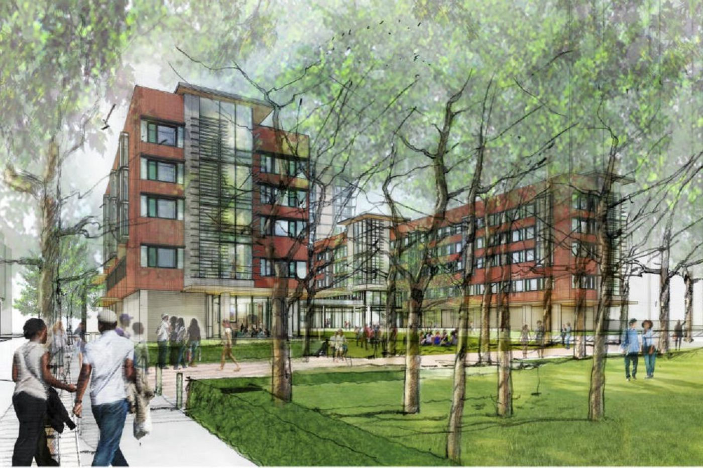 Penn to build more undergrad housing near 40th & Walnut