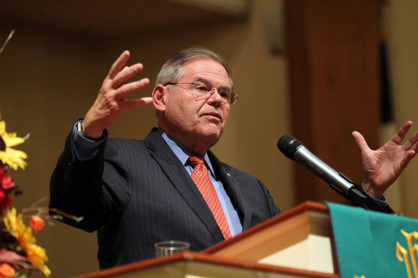 'Everybody's nervous': Sen. Bob Menendez tries to stave off Democratic disaster