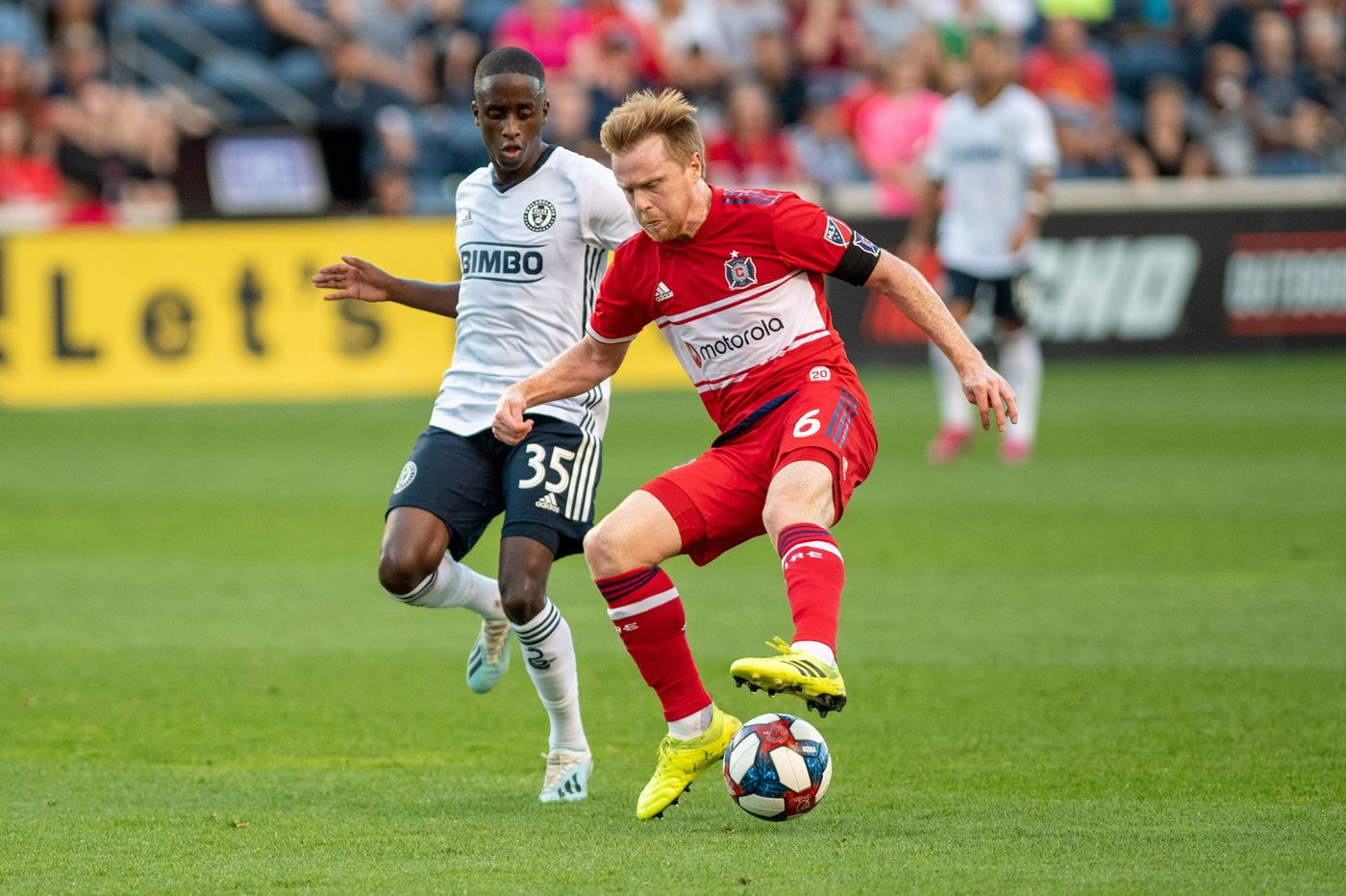 Union shut out, 2-0, by lowly Chicago Fire