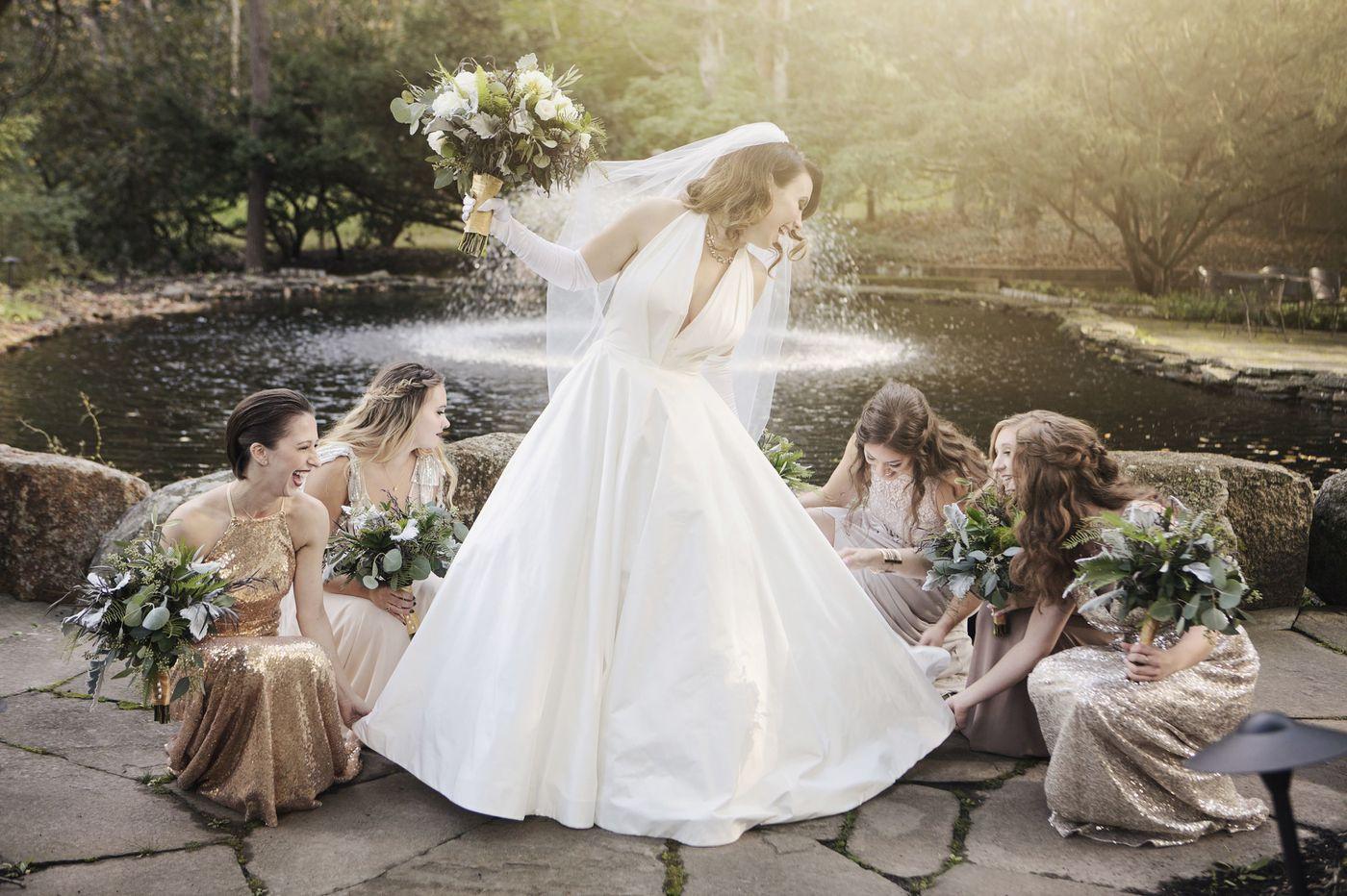 Philadelphia weddings: Alexa Miller and William Schaub