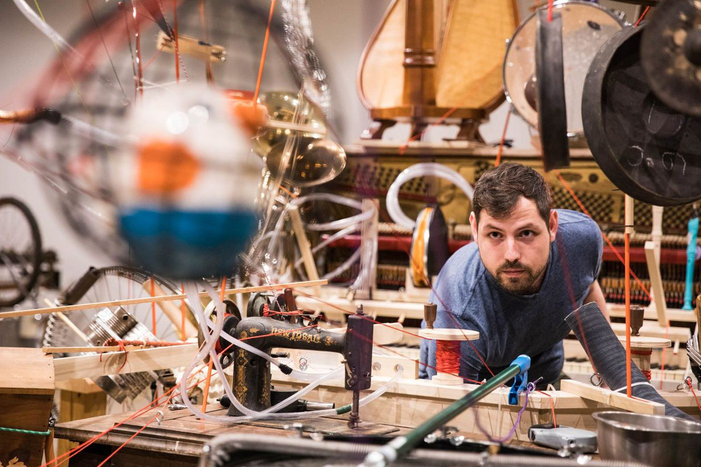 Bowerbird's 2-man music contraption is a hot ticket for 4 remaining Philly shows