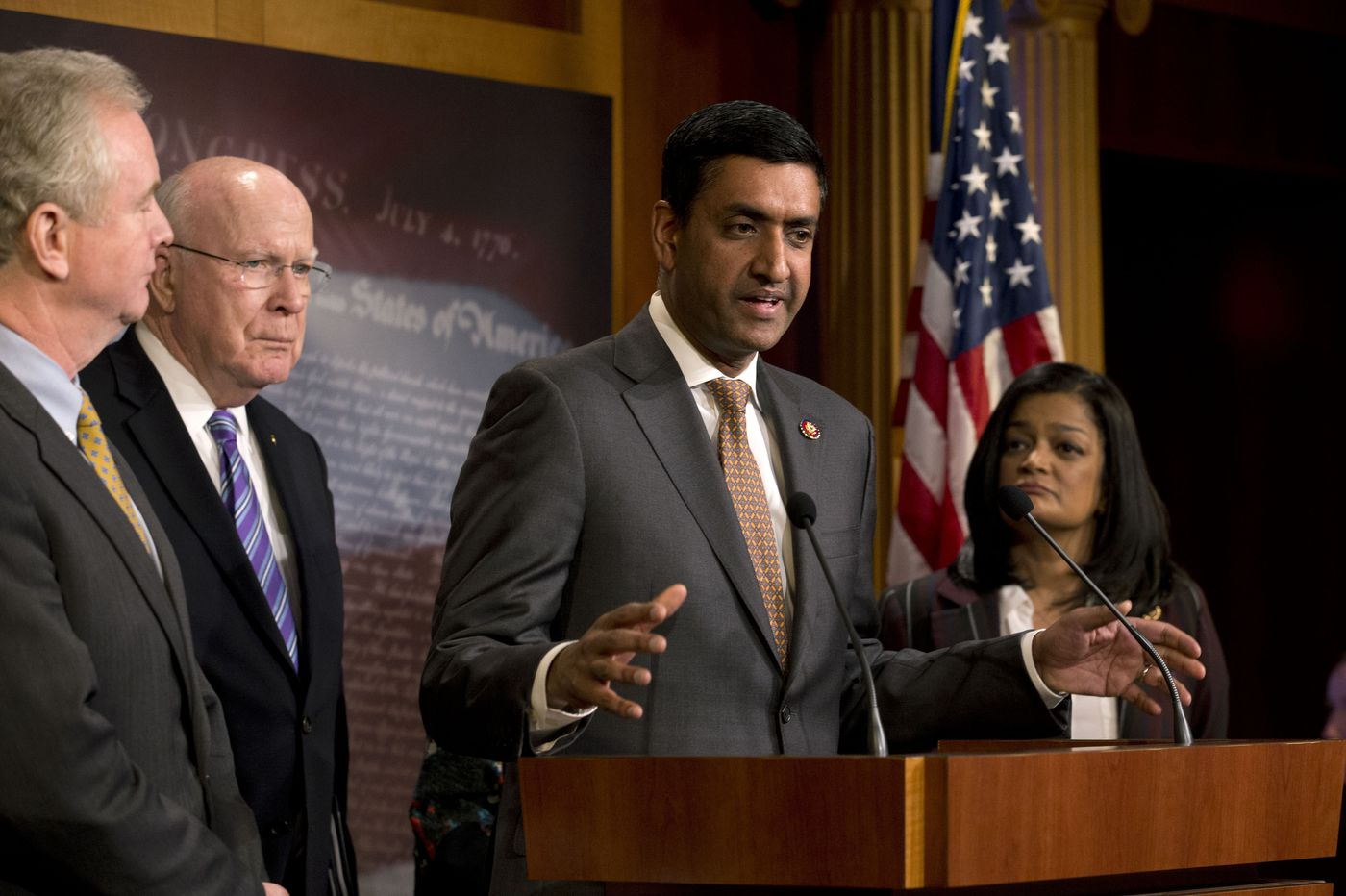 House backs measures asserting congressional war powers