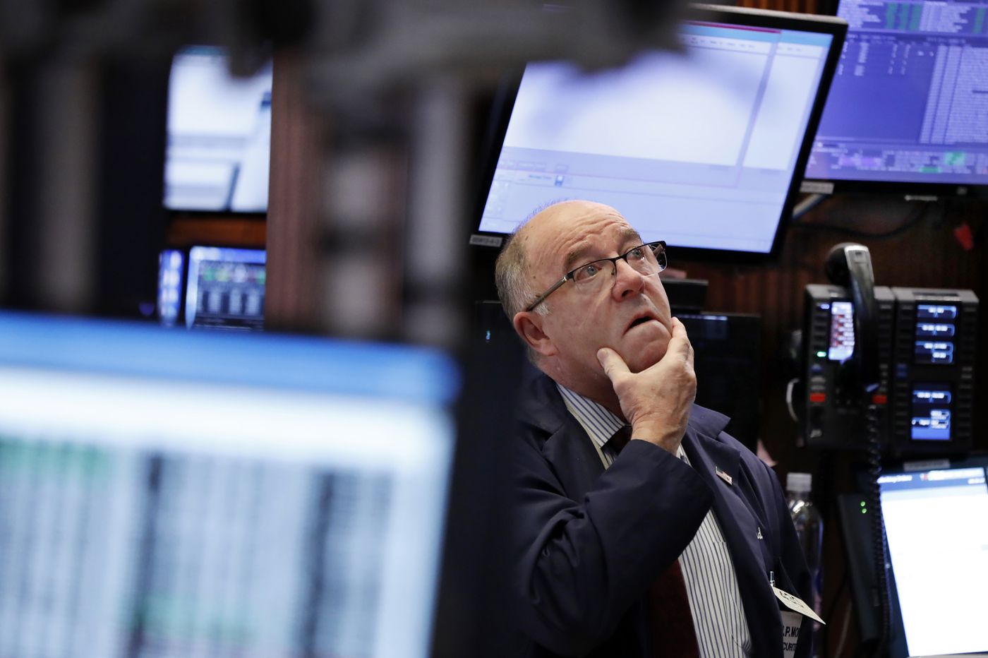 dow drops more than 350 points at start of the new year on fears of