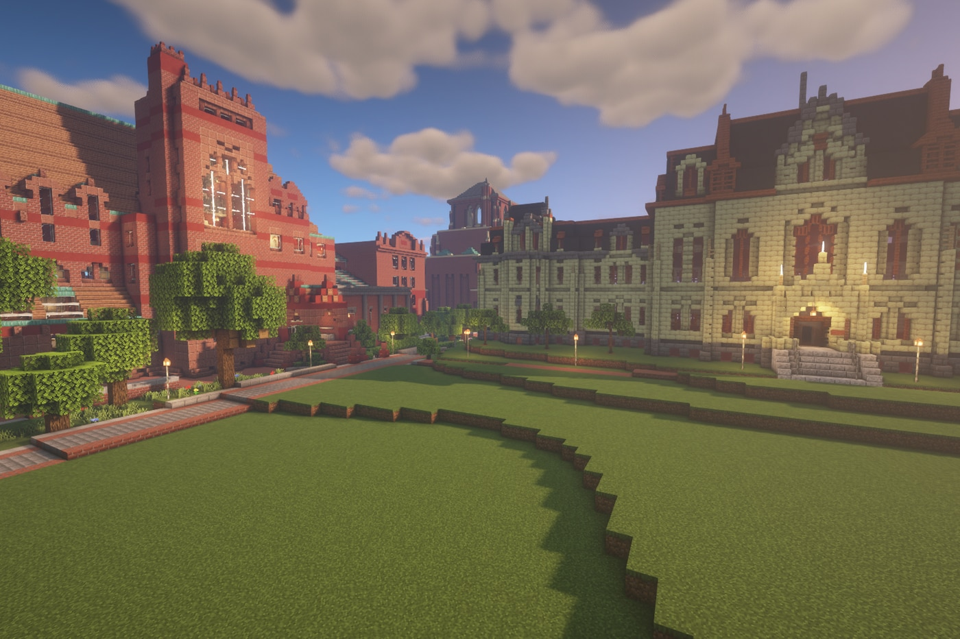 Penn students have re-created their campus on Minecraft