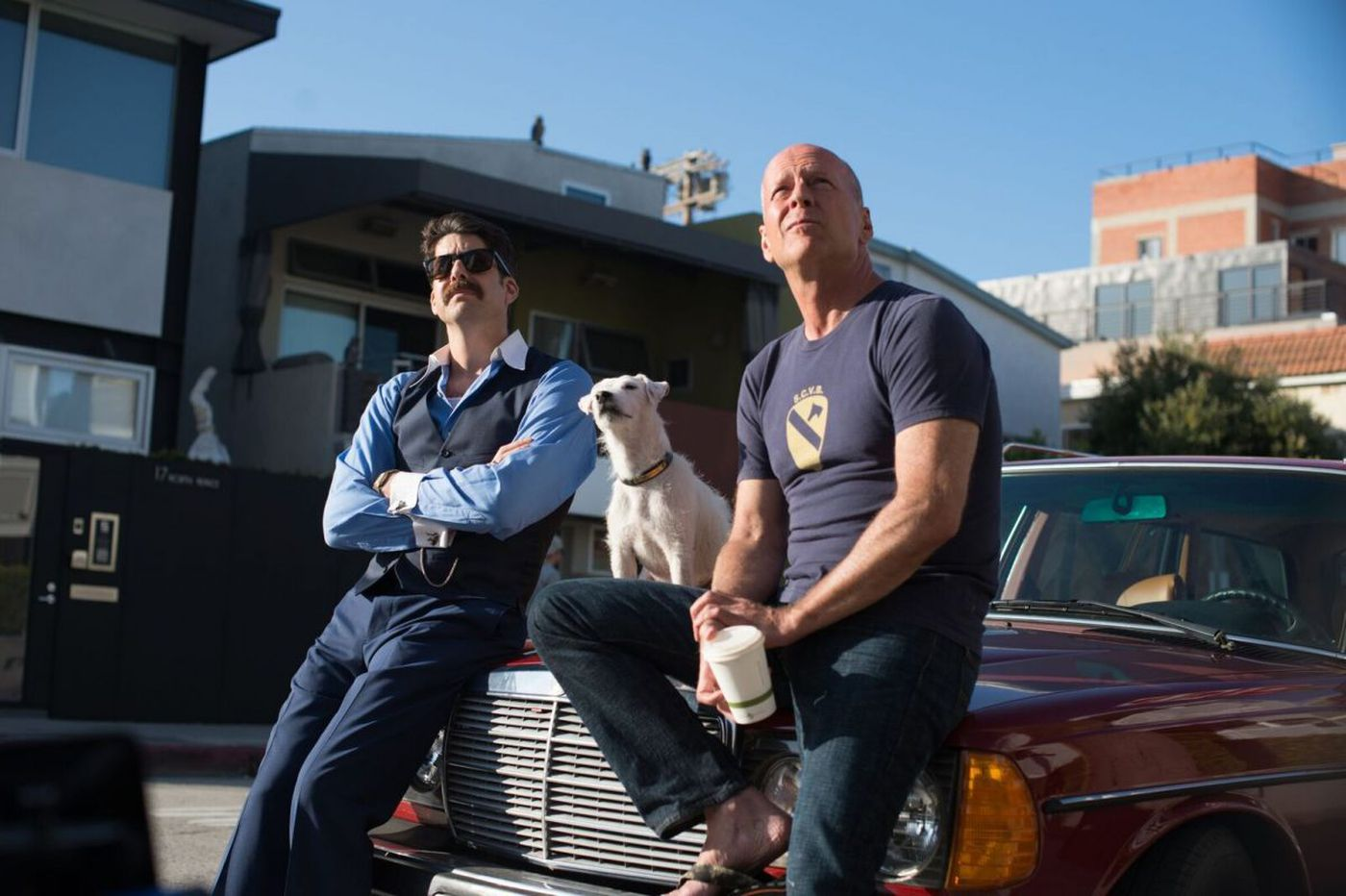 Bruce Willis is beached in 'Once Upon a Time in Venice'