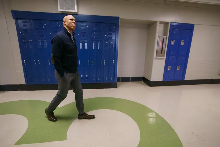 """Philadelphia Schools Superintendent William R. Hite Jr., shown in this file photo, received two """"needs improvement"""" grades on his latest evaluation by the school board."""