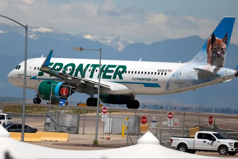 A 22-year-old Ohio man was arrested Sunday morning on three counts of battery after a Frontier Airlines flight from Philadelphia to Miami.