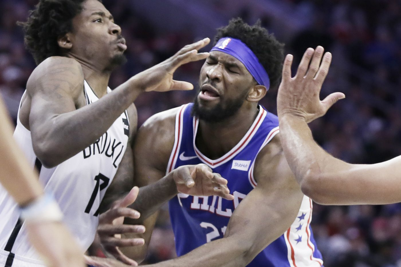 Sixers stay positive about Joel Embiid missing next three games, but his missed time could cost them in playoffs   Keith Pompey