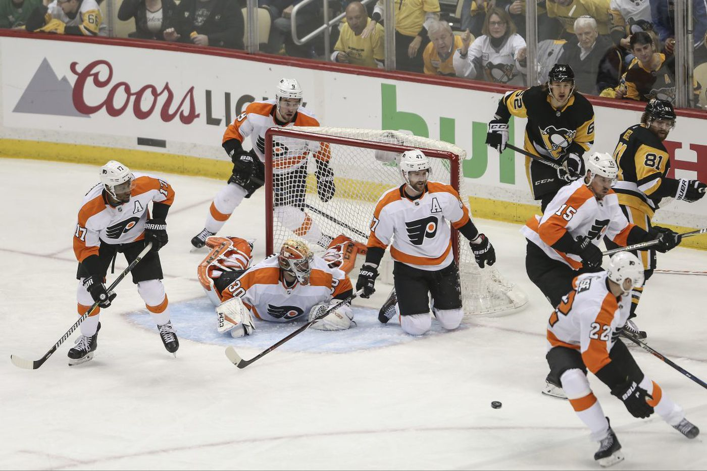 Finally, some drama in Flyers-Penguins series   Sam Carchidi