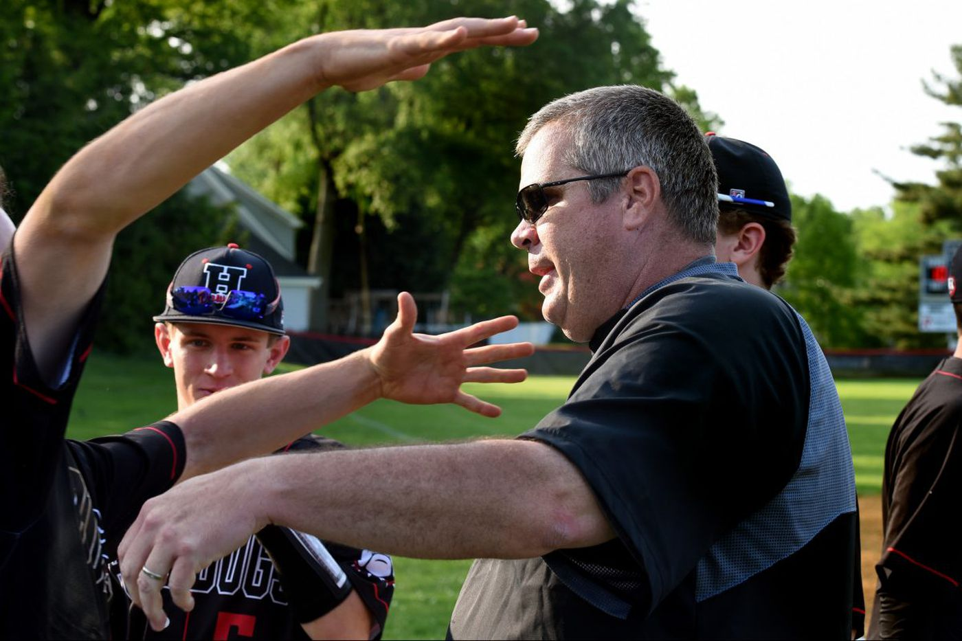 Haddonfield coach Bob Bickel earns 300th win and a conference title