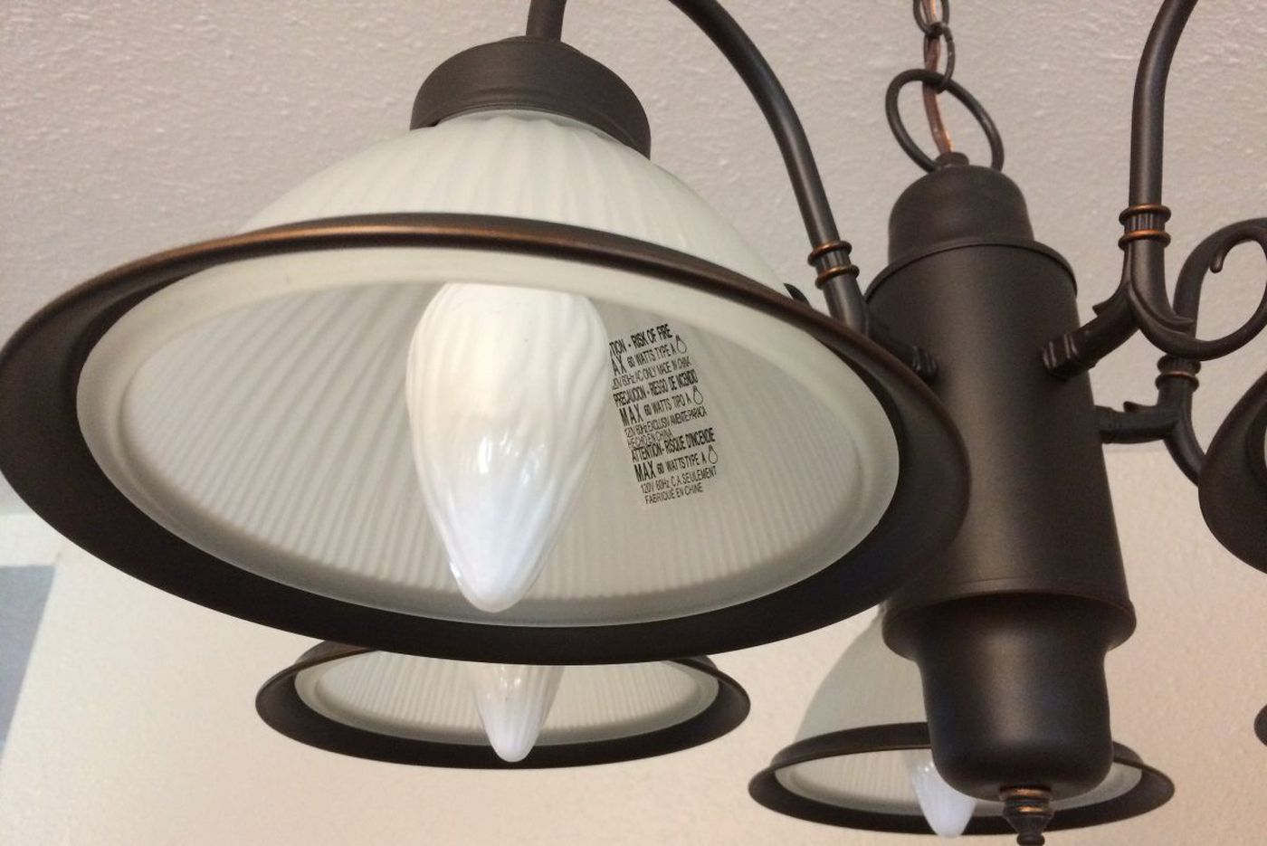 AskJenniferAdams:Is it OK to remove the manufacturer stickers from light fixtures?