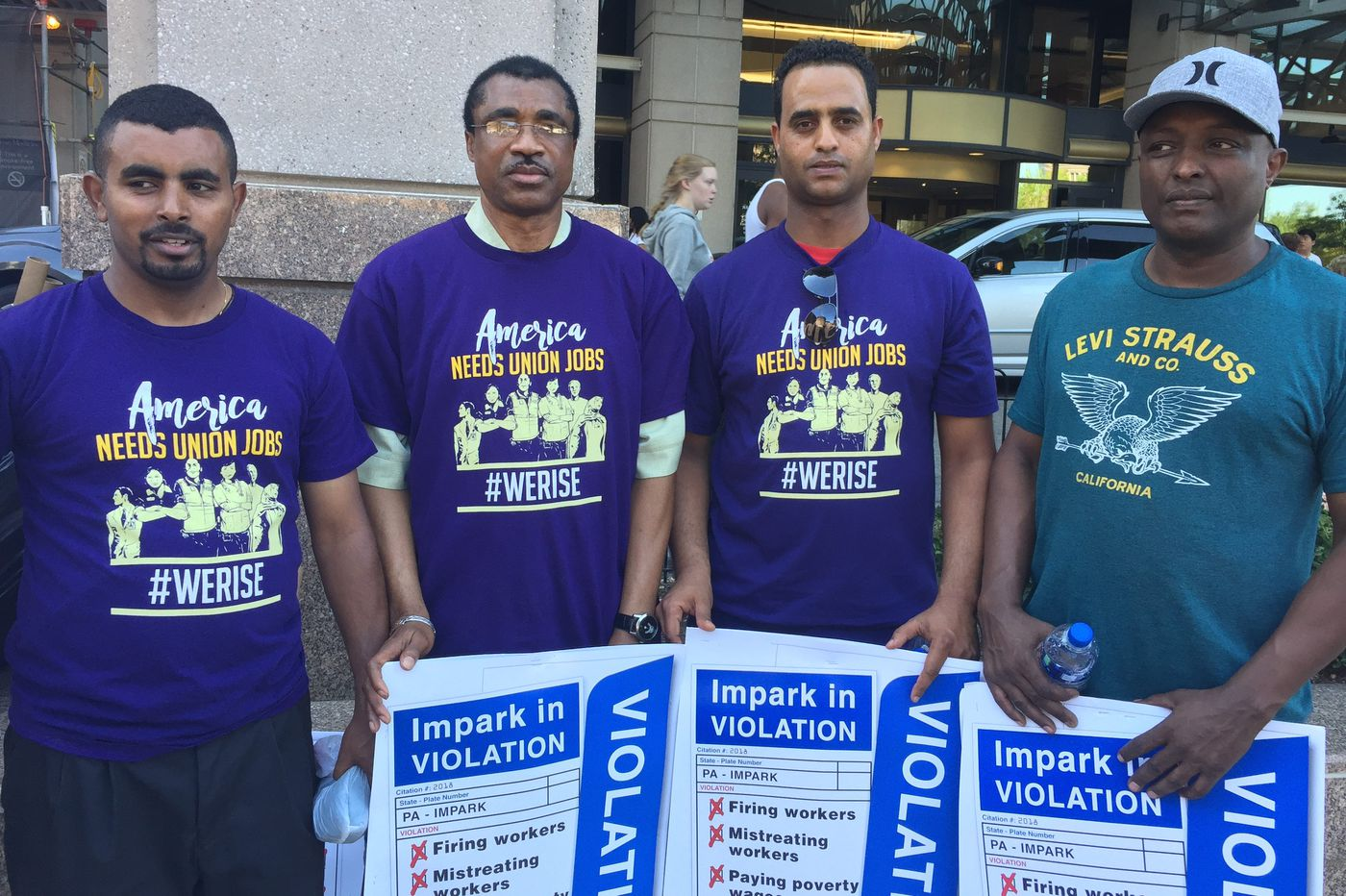 African valets who park the cars at Penn Medicine say they got fired after trying to unionize