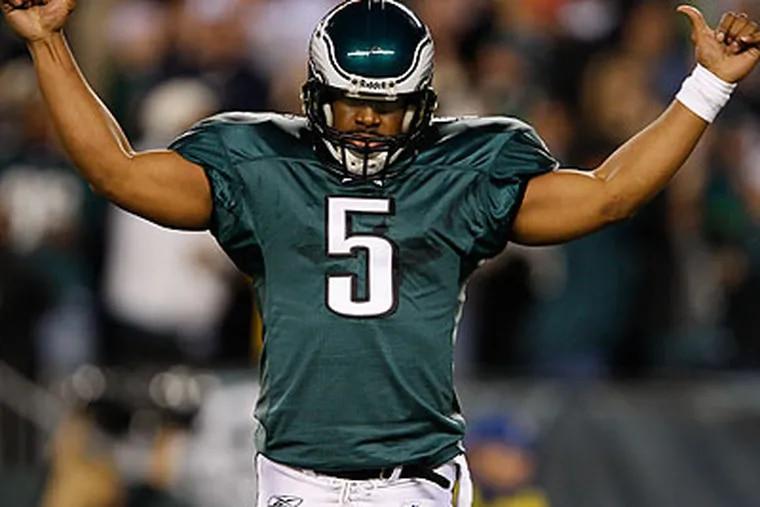 The Eagles traded Donovan McNabb to the Washington Redskins on Sunday. (David Maialetti/Staff file photo)
