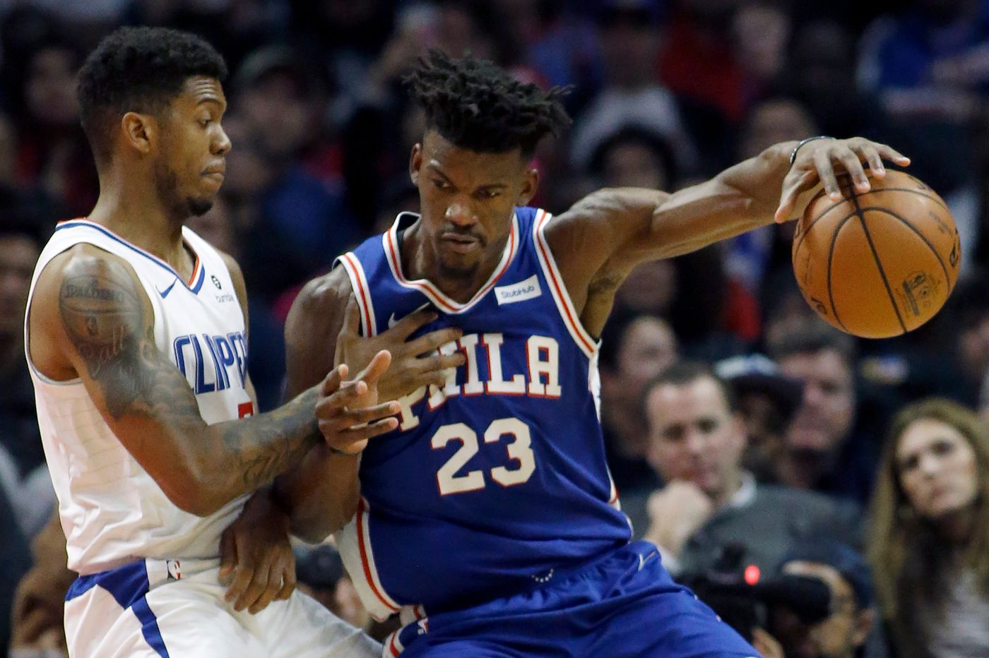 Sixers-Clippers observations: Patrick Beverley would be a good fit in Philly; Joel Embiid and Ben Simmons must coexist better