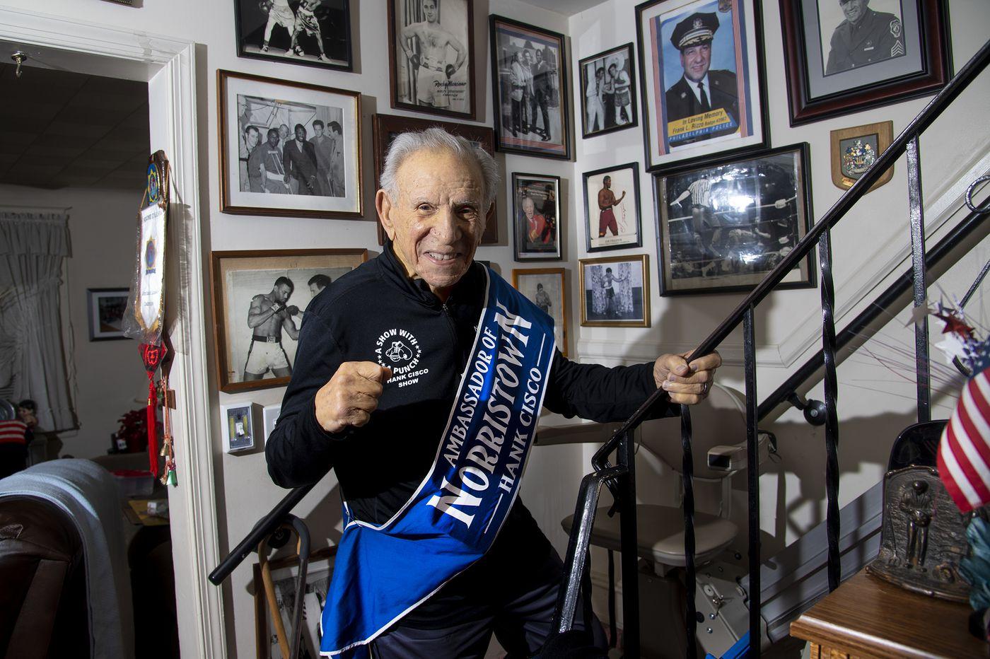 Hank Cisco, 96, Norristown's goodwill ambassador, dies