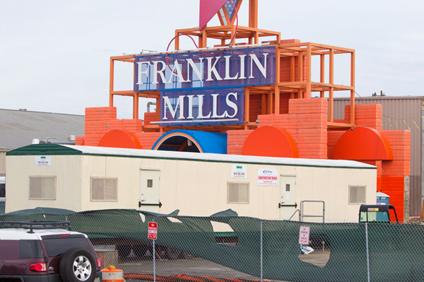 Franklin Mills reinvents itself as a more conventional mall