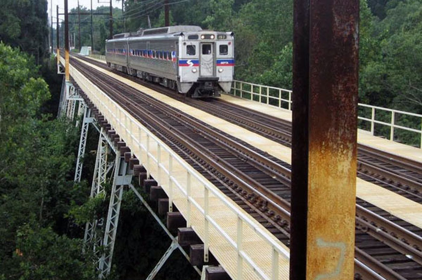 Delco bridge repair will cost SEPTA $55.5M