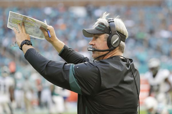 Eagles' Doug Pederson says Dolphins 'played harder than we did,' tries to clarify it, and sounds worse
