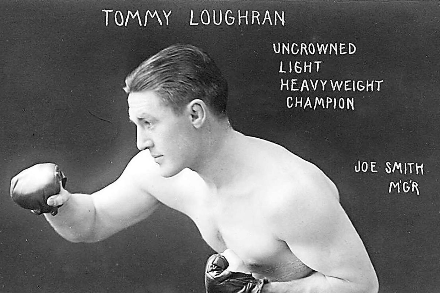 Philly plaque recalls boxer Tommy Loughran
