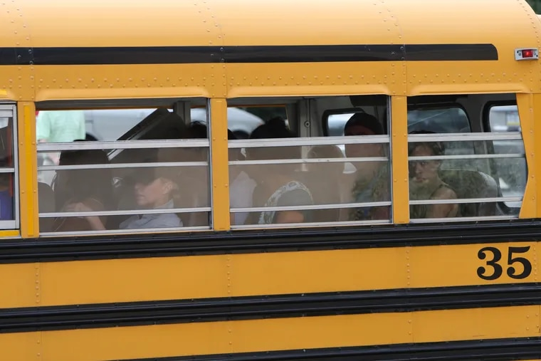 A 7-year-old Philadelphia boy was left alone on a school bus for hours for the second time in two weeks.