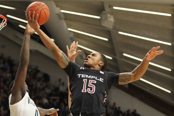 Temple's Nate Pierre-Louis shined on both ends of the court in Owls loss to Villanova