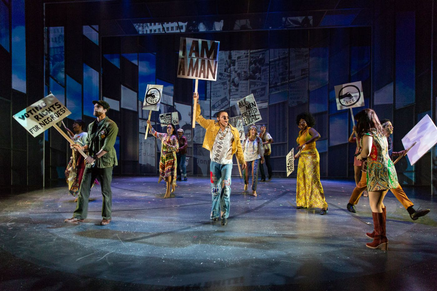 Regional premiere 'Sign of the Times' at Delaware Theatre Company: Nostalgia, electric performances, but could be sharper, funnier
