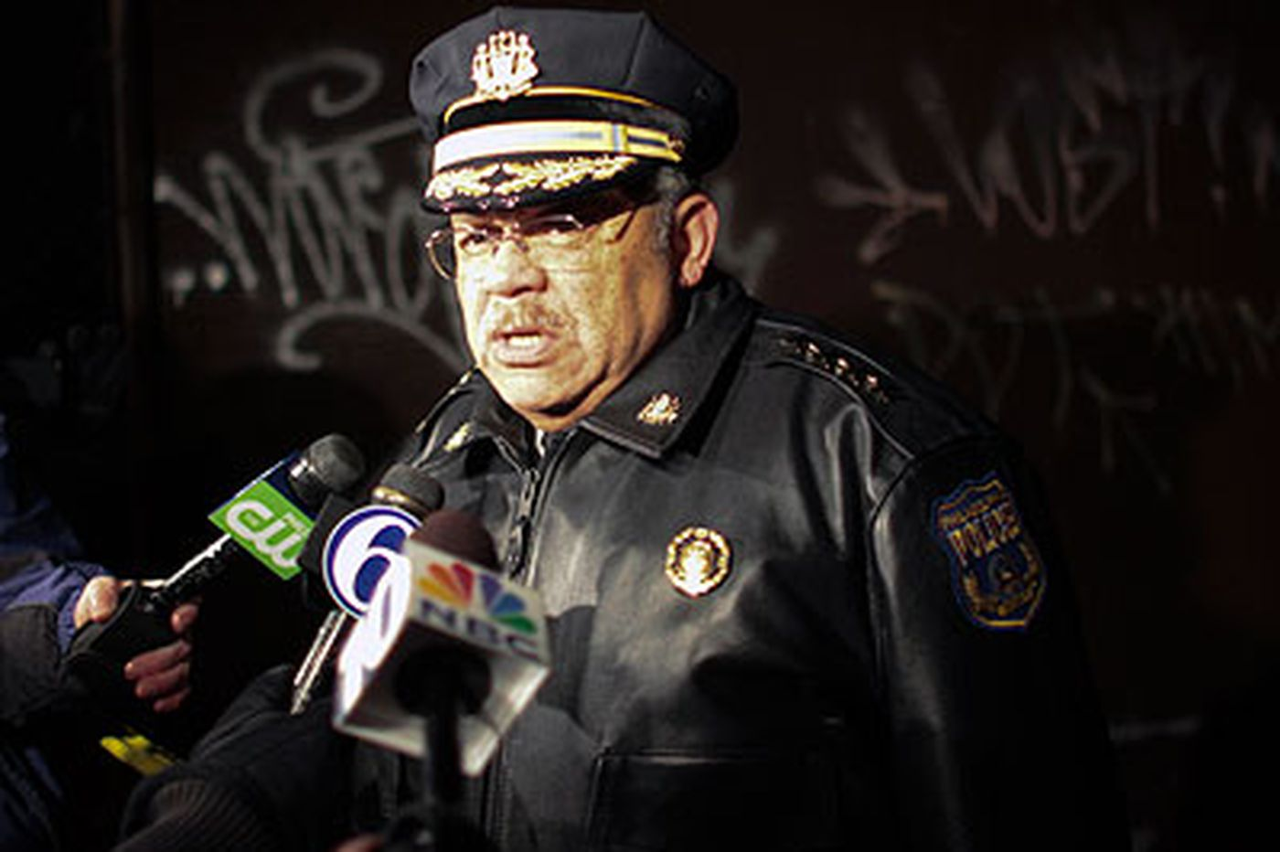 Police commissioner reflects on a rough 2010 as he looks to restore faith in his force