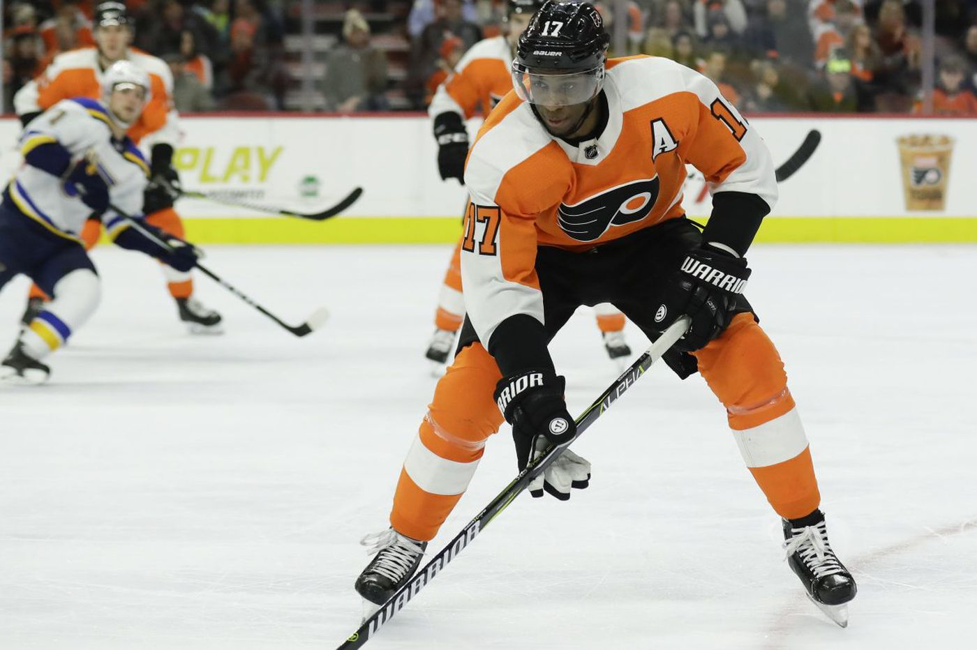 Flyers hope Wayne Simmonds stabilizes rough patch as team enters key string of games