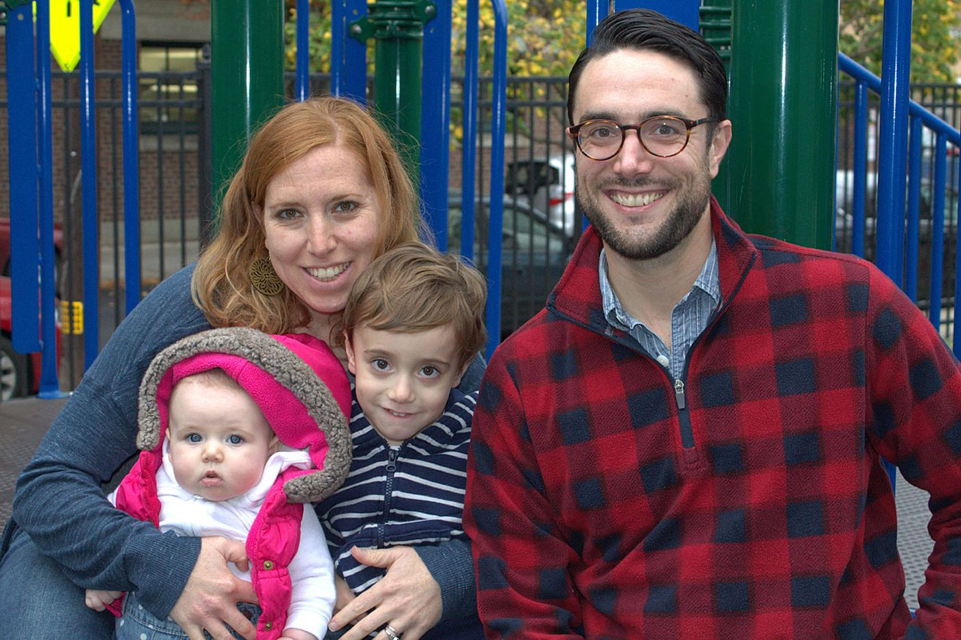 The Parent Trip: Kate DeRosa Howell and Ted Howell of South Philadelphia