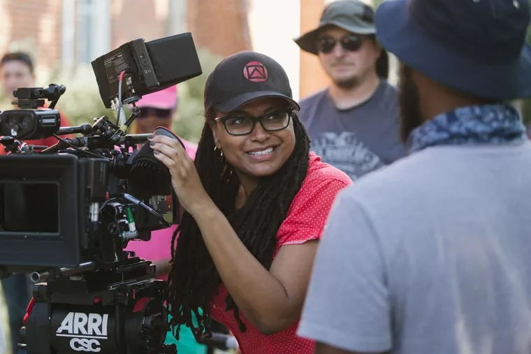 """"""" Why is it important for girls and women to see themselves on screen? Film is a mirror. If you don't see yourself, does it mean"""" you don't exist? Ava DuVernay, left, directorof Selma and the coming TV series Queen Sugar ATSUSHI NISHIJIMA / Paramount Pictures"""