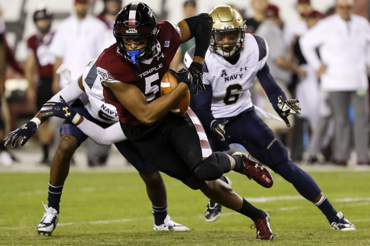 Temple adds football series with Akron, UMass