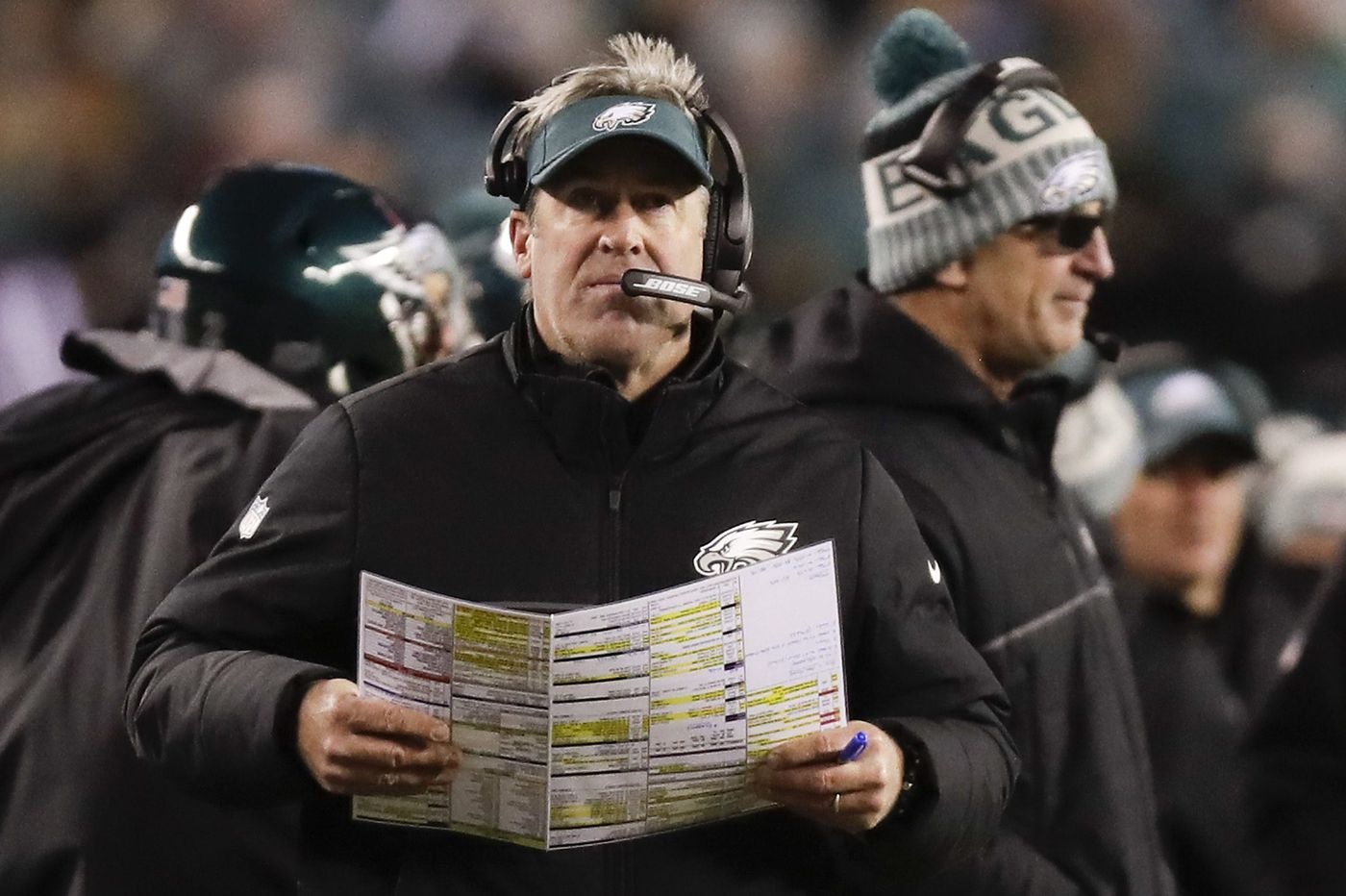 Eagles coach Doug Pederson's press conference at 10:30 | Live video