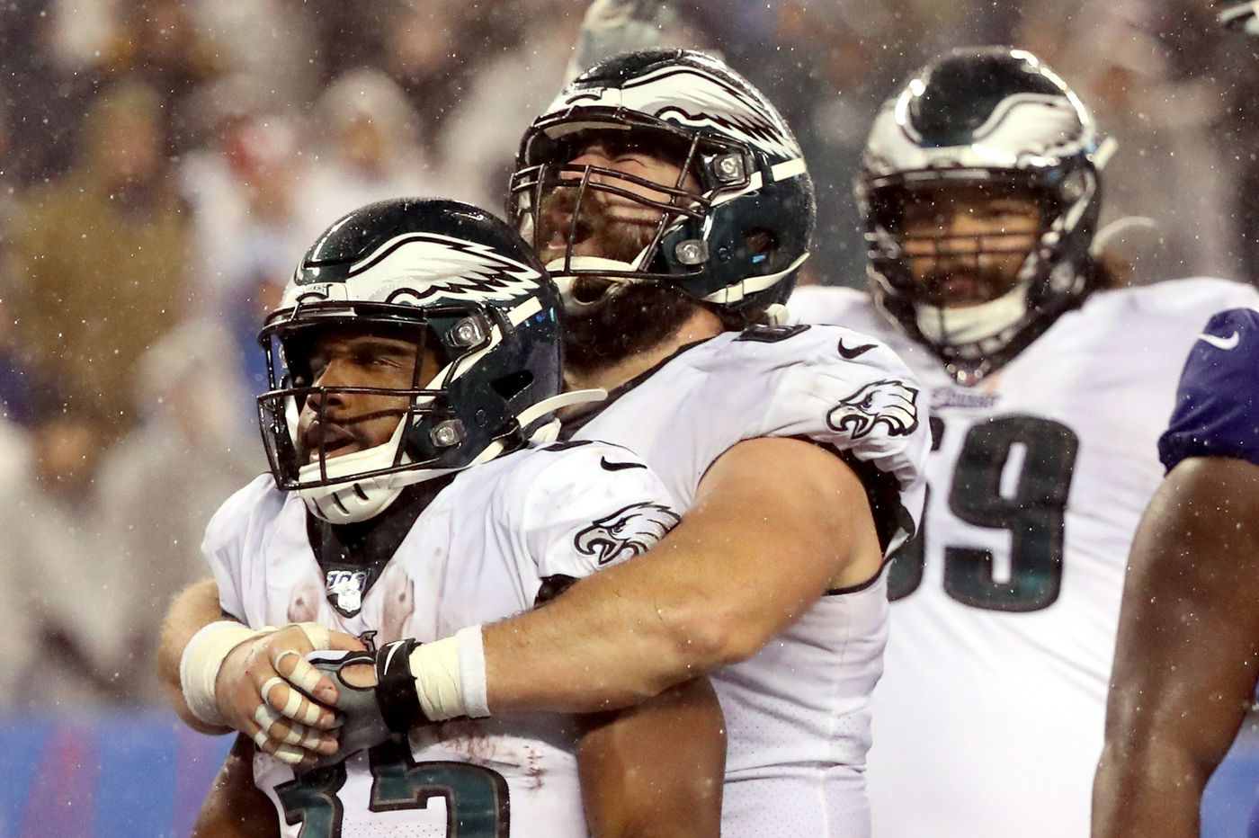 Not playing football this year wasn't an option for Eagles center Jason Kelce