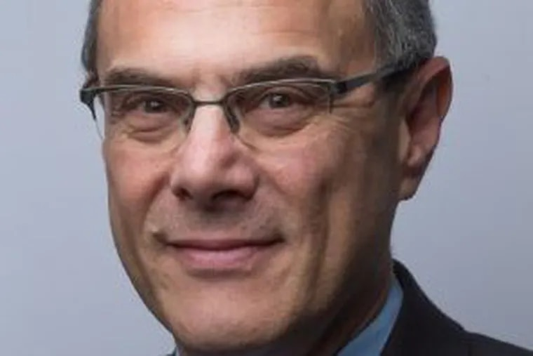 Michael Zimbalist, 61, joins the Philadelphia Media Network as chief strategy and innovation officer starting Jan. 15, 2018. He reports to publisher Terry Eggers (Credit: LinkedIn)