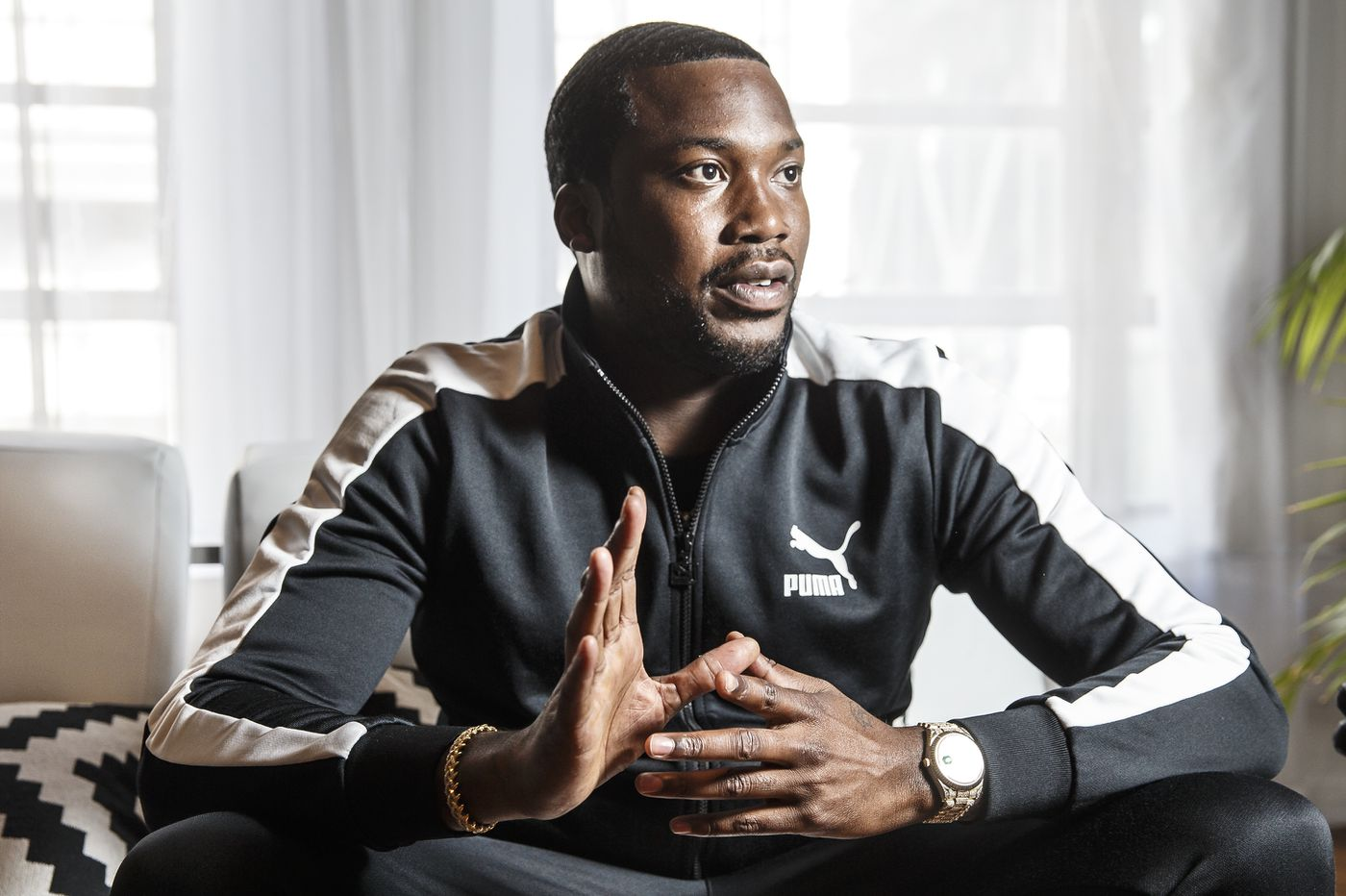 Meek Mill says racial graffiti painted on his grandmother's Philly home