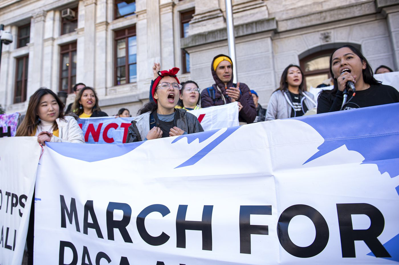 DACA march to U.S. Supreme Court stops for a Friday rally at Philly City Hall
