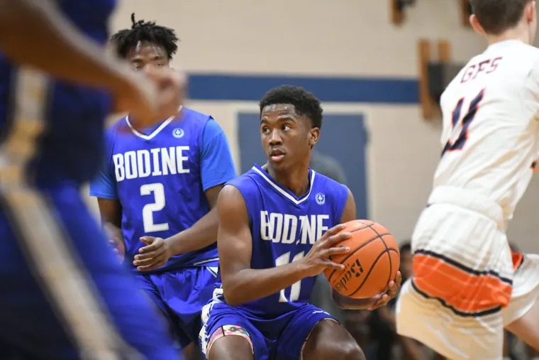 Bodine and Germantown Friends played in one of several matchups from Friday's Germantown Community Tournament to tip off the high school basketball season.