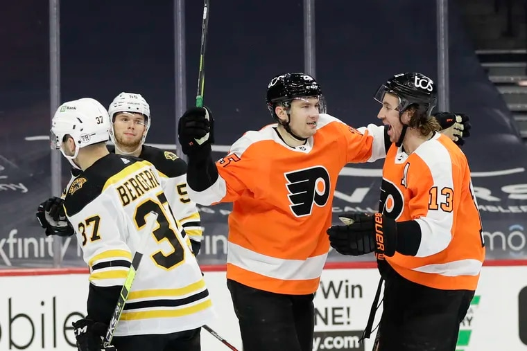 The Flyers haven't played since Feb. 7.