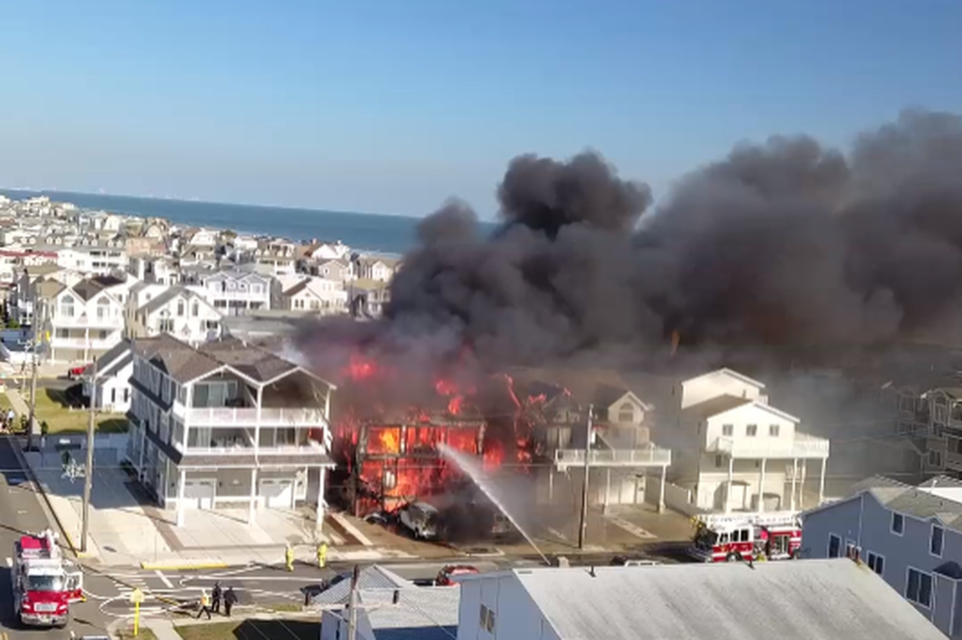 Body of elderly woman missing after Jersey Shore fire is found
