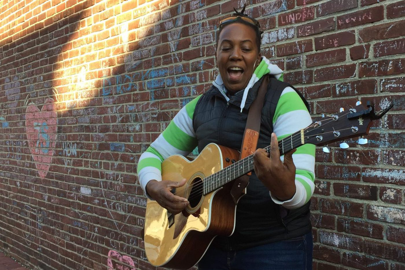 Singer with rare eye disease runs Philly co-op music studios   We the People
